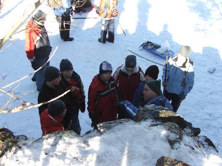 Scouts Klondike Derby Kandersteg, Switzerland, 12-14 Jan. 2007