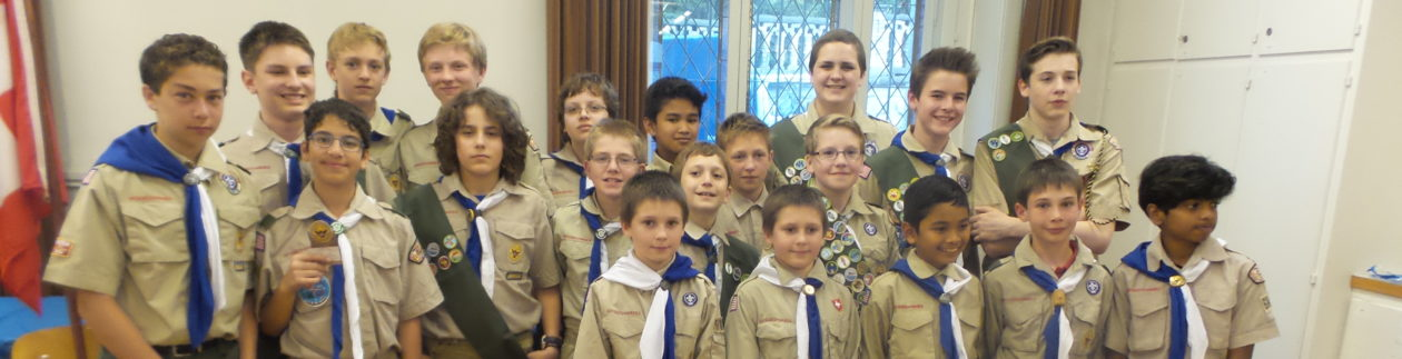 Troop 684 – Zurich, Switzerland